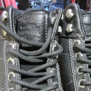 Harley-Davidson Shoes - Harley Davidson Black Chunky Ankle Boots NEW